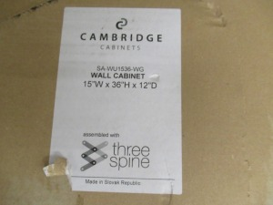 CAMBRIDGE WALL CABINET
