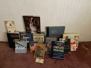 Several Assorted books