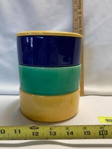 Kitchen Kraft Covered Stack Set (Refrigerator Jars)