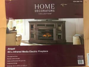 "60"" Infrared Electric Fireplace"