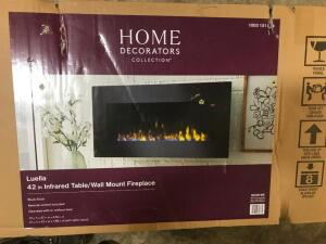 "42"" Infrared Table/Wall Mount Fireplace"