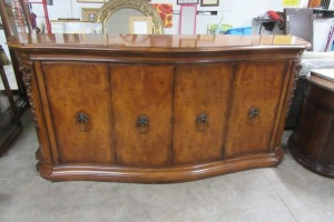 HENREDON - BUFFET - 4 DOOR - WITH DRAWERS - BURL