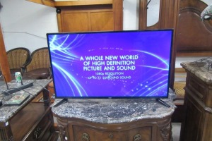 ONN - 43 INCH - FLAT SCREEN TV - WORKS