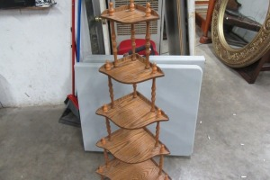 5 TIER - OAK FINISH - WHAT KNOT - STAND