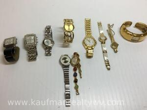 Mixed lot of watches