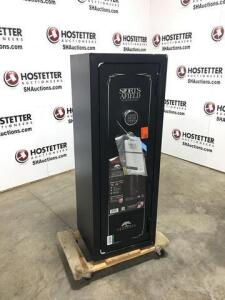 Sports Afield 18 gun safe - new - digital key pad - fire proof - water proof - cart not included