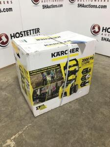 Karcher 2000 psi electric power washer - 1.3 gpm - new in box