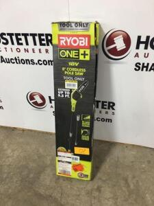 Ryobi - 8in pole saw - 18V - tool only - new in. Box