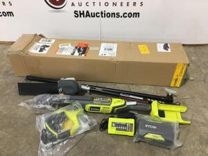 Ryobi pole saw with charger - new