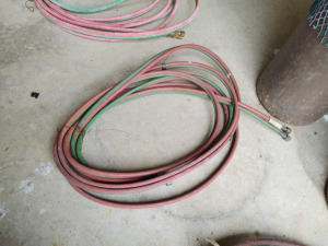 TWIN LINE WELDING HOSE