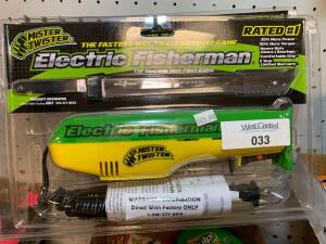 Mister Twister Electric Fisherman Knife