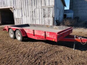 6.5ft x 16ft Tandem Axle Car Trailer w ramps