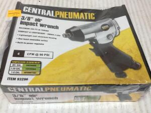 "3/8"" inch air impact wrench"