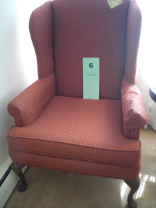 WING STYLE ARM CHAIR