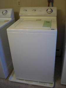 MAYTAG PERFORMA OVERSIZE CAPACITY, QUIET SERIES, HD, 2 SPEED, 10 CYCLE WASHER