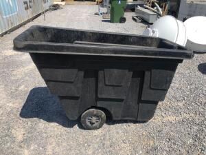 Rubbermaid Commercial Rolling Trash Bin