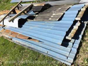 Selection of metal roofing and trim