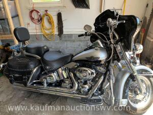 2003 Harley Davidson 100th anniversary Heritage softtail motorcycle -vin #1hd1bwb403y106860