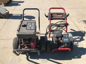 (2) Pressure Washers - for parts only