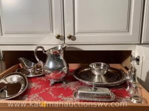 Selection of silver plate