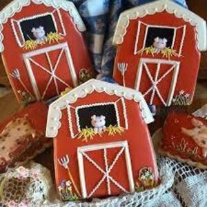 (1) Farm Themed Cookie Set by Dot Tyree