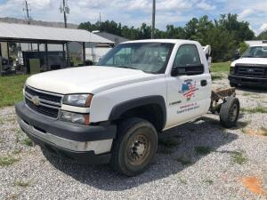 2007 Chevrolet 2500HD Cab n Chassis