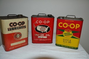 Co-Op Oil Cans