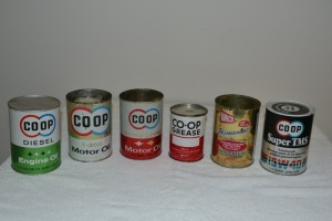 Assorted Small Vintage Cans