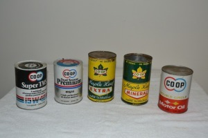 Co-Op Small Vintage Cans
