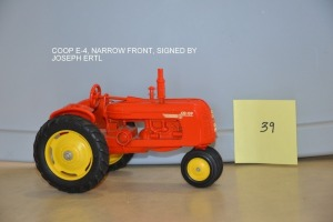 Coop E-4, Narrow Front, Signed by Joseph Ertl
