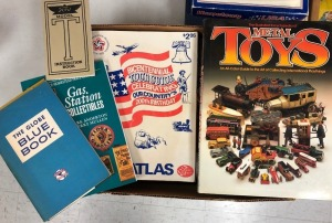 Gas Station, Toy, and Other Collectibles Books