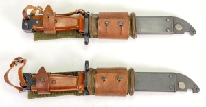 Russian AK47 Bayonets with Scabbards