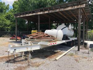 2013 Economy Drilling Solutions Dual Tandem Axle Equipment Trailer