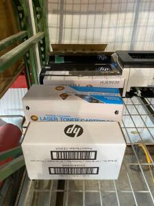 Lot - Assorted Ink Cartridges and Toner