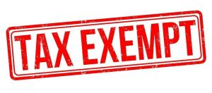IF YOU ARE TAX EXEMPT