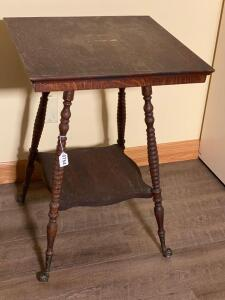 Side Table with Ball and Claw Feet