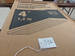 (3) 4' Surface Wrap-around Lights (new)