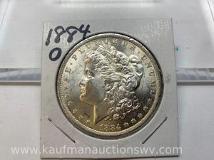 1884 O uncirculated Morgan