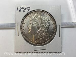 1889 uncirculated Morgan
