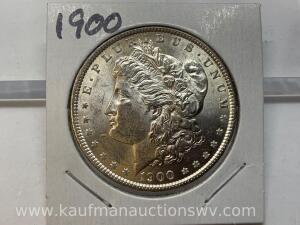 1900 uncirculated Morgan