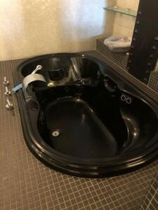 "Black Jacuzzi tub 22""x70""x42""- needs removed"