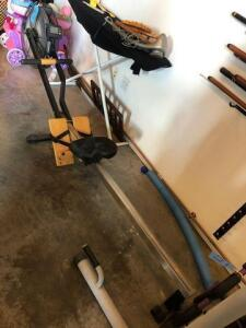 Row machine -roughly 8' long