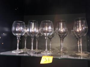 Wine glass 10 piece set