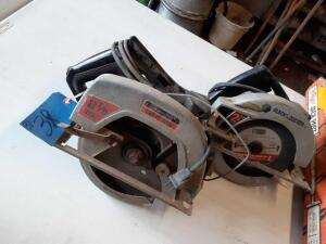 Set Of CRAFTSMAN AND Black & Decker Saws