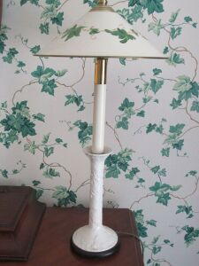 Pair of dresser lamps