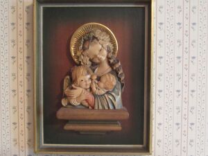 Carved picture