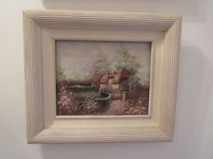 2 Thomas Kincade prints framed