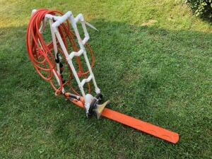 Homemade Pond Edge Trimmer with Stihl HSE 70 electric trimmer