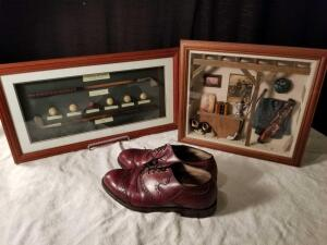 Golf Shadow Boxes, Golf Shoes