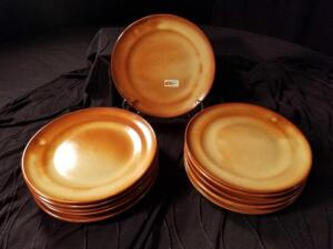 NEW MVG Pottery Salad Plates